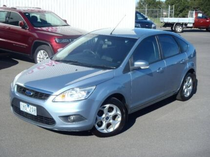 2010 Ford Focus Blue Sports Automatic Dual Clutch Hatchback Traralgon Latrobe Valley Preview