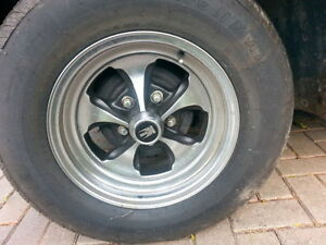 "Set of 4 15"" keystone rims with new tires Windsor Region Ontario image 1"