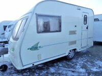 Avondale Dart 380 12ft 2 berth end kitchen,excellent condition,high spec