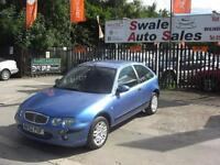 2003 ROVER 25 2.0 SPIRIT SE DIESEL 100 BHP 3 DOOR EXCELLENT MILES PER GALLON