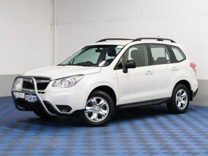 2013 Subaru Forester MY13 2.5I White Continuous Variable Wagon