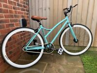"17"" Mango Single Speed Ladies Bike - Stunning Condition"