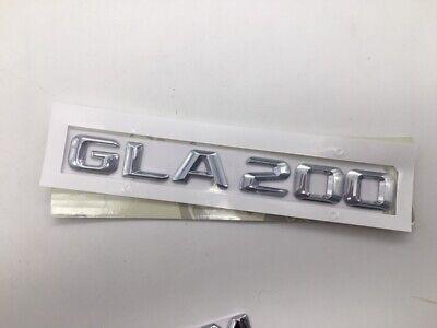 Heck Stamm GLA200 Schriftzug Chrom Abzeichen für Mercedes Benz GLA Klasse