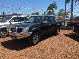 2006 Holden Rodeo TF LT 4X4 Black 5 Speed Manual Dual Cab Hidden Valley Darwin City Preview