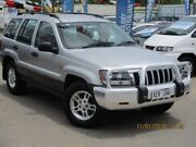 2005 Jeep Grand Cherokee WG MY2004 Laredo Silver 5 Speed Automatic Wagon Gepps Cross Port Adelaide Area Preview