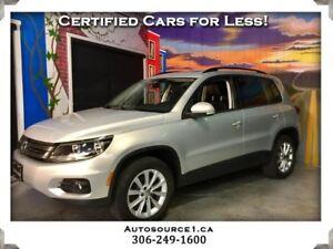 2013 Volkswagen Tiguan Comfortline AWD | LEATHER | SUNROOF