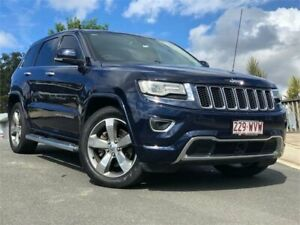 2013 Jeep Grand Cherokee WK MY2013 Overland Blue 5 Speed Sports Automatic Wagon Chevallum Maroochydore Area Preview