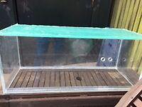 "30"" Acrylic fish tank for sale"