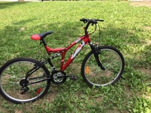 """26"""" Red Supercycle Mountain Bike Gently Used."""