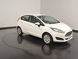 2013 Ford Fiesta WZ Ambiente White 5 Speed Manual Hatchback Welshpool Canning Area Preview