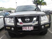 2010 Nissan Navara  Gold Manual Mount Pleasant Mackay City Preview
