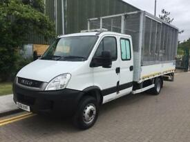 2011 Iveco Daily 70C18 Cage Caged Tail Lift Dropside Manual Dropside