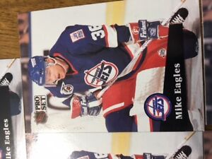 MIKE EAGLES HOCKEY CARDS