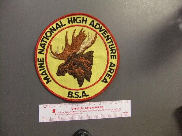 Boy Scout Maine High Adventure Base Jacket Patch 2416W
