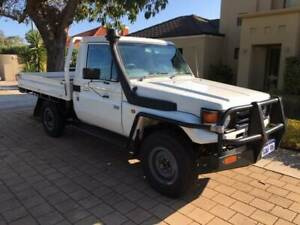 2006 TOYOTA LANDCRUISER WORKMATE 4.2 6CYL TRAYTOP ( ONLY 118,191K'S ) Bayswater Bayswater Area Preview
