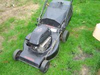 Lawn mower 21inch cut self propelled Castel Garden