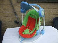 BABY SWING / ROCKER / CHAIR, MUSICAL EXCELLENT