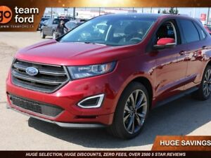 2018 Ford Edge SPORT, 401A, SYNC3, NAV, HEATED/COOLED FRONT SEAT