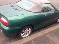 MGF TF in Le Mans Green