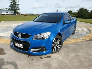 2015 Holden Ute VF MY15 SS Ute Storm Blue 6 Speed Manual Utility Gympie Gympie Area Preview