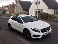 2016 Mercedes-Benz GLA 220d 4Matic AMG Line 5dr [Premium+GLA 45 Body Kit] £25,000 ONO