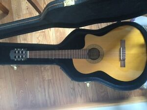 Walden n350ce Classical Electric Acoustic Guitar