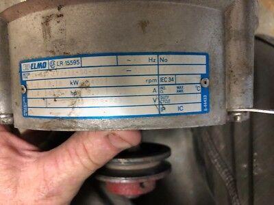 Unimac Washer Elmo Motor 3 Speed Part 220320 Lr15595