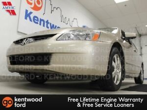 2005 Honda Accord Sdn EXV6 with a sunroof? and heated power leat