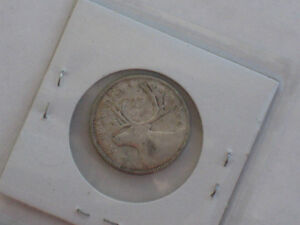 1940 Canadian Quarter