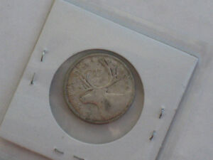 1940 Canadian Quarter