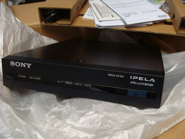 Sony SNCA-ZX104 Hybrid 4-Channel Camera Receiver