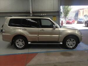 2015 Mitsubishi Pajero NX MY15 Exceed Gold 5 Speed Sports Automatic Wagon Maryville Newcastle Area Preview
