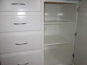 4 DRAWER CHEST WITH SIDE CUPBOARD Wyndham Vale Wyndham Area Preview