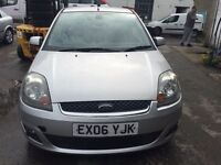 2006 Ford Fiesta, starts and drives very well, 1 years MOT (runs out May 2018), nice leather interio