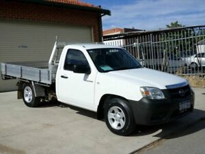 2009 Mazda BT-50 UNY0W4 DX 4x2 White 5 Speed Manual Cab Chassis Mount Lawley Stirling Area Preview