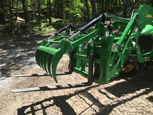 Grapple & forks - John Deere Tractor Attachment