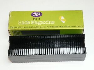Boots MK III Slide Magazine For All Boots 300 Series Super QI & Gnome Projectors