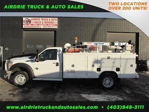 2012 Ford Super Duty F-550 DRW Service Body Crane