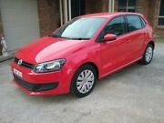 2012 Volkswagen Polo Trendline Red Automatic Hatchback Rossmore Liverpool Area Preview