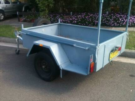 6X4 BOX TRAILER FOR SALE - 12 Months Registration Pagewood Botany Bay Area Preview