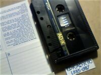 VERY RARE TDK AD-X 90 1985-1987 PREMIUM DUAL-LAYER CASSETTE TAPES WITH CCLs FREE P&P AND A GUARANTEE