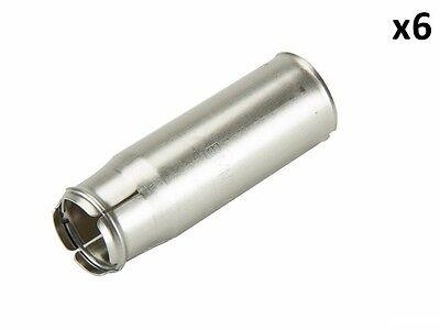 Spark Plug Tube (SET OF SIX (6) NEW BMW SPARK PLUG TUBE SEALS 11127575422 )