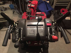 "50% SALE CRAFTSMAN 27"" 250cc SNOWBLOWER AS NEW POWER STEERING"