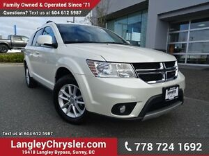 2013 Dodge Journey SXT/Crew ACCIDENT FREE w/ DVD ENTERTAINMEN...