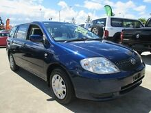 2002 Toyota Corolla ZZE122R Ascent Blue 4 Speed Automatic Wagon Greenslopes Brisbane South West Preview