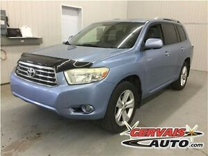 Toyota Highlander Limited AWD Cuir Toit Ouvrant MAGS 2008