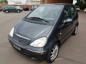 2003 Mercedes-Benz A190 W168 Elegance Grey 5 Speed Automatic Hatchback Georgetown Newcastle Area Preview