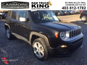 2017 Jeep Renegade LIMITED | LEATHER | SUNROOF | LOADED | GREAT