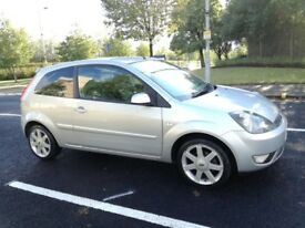 FORD FIESTA 1.2 ZETEC CLIMATE 16V 3DR (silver) 2008