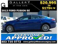 2013 Ford Fusion SE $179 bi-weekly APPLY NOW DRIVE NOW